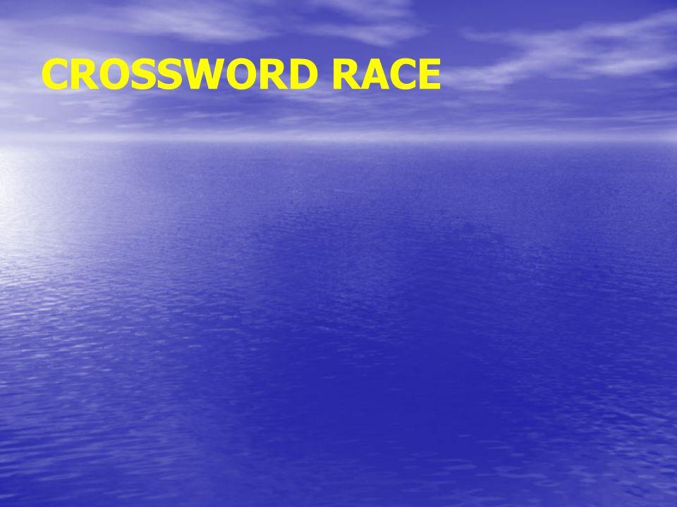CROSSWORD RACE