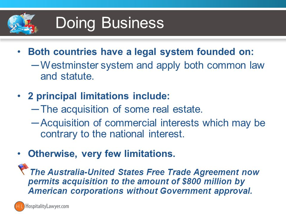 Contract Issues Substantially the same as in the USA Trade Practices Act (Cth) (1974) –Section 68 declares void any term of a contract which purports to exclude, restrict or modify the implied conditions, warranties and other provisions of the Division –Section 74(2) implies a warranty that services will be fit for the purpose.