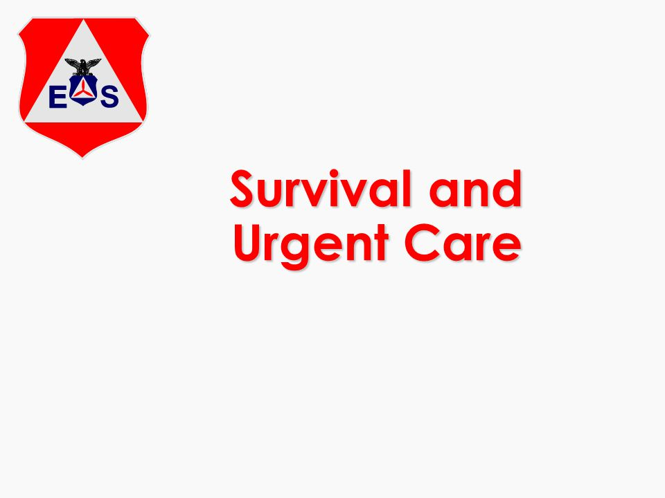 Survival and Urgent Care