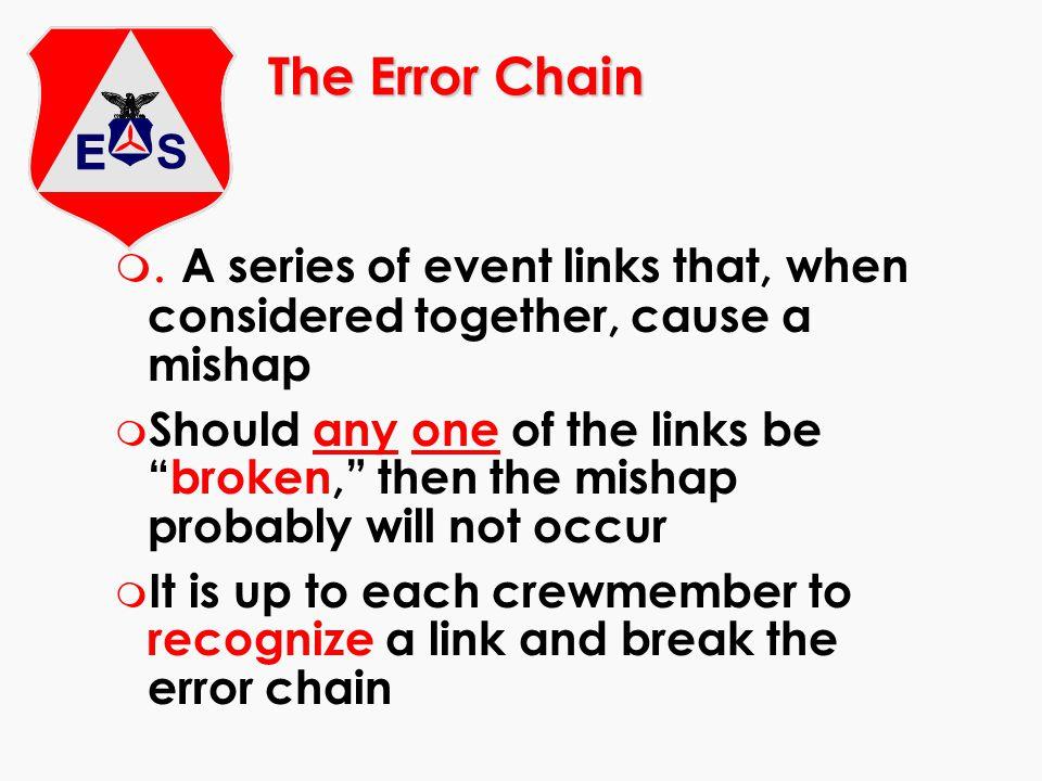 The Error Chain m.