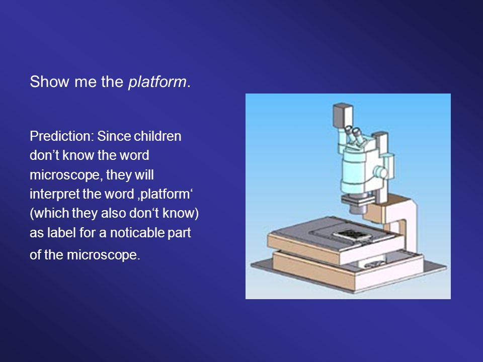 Show me the platform.