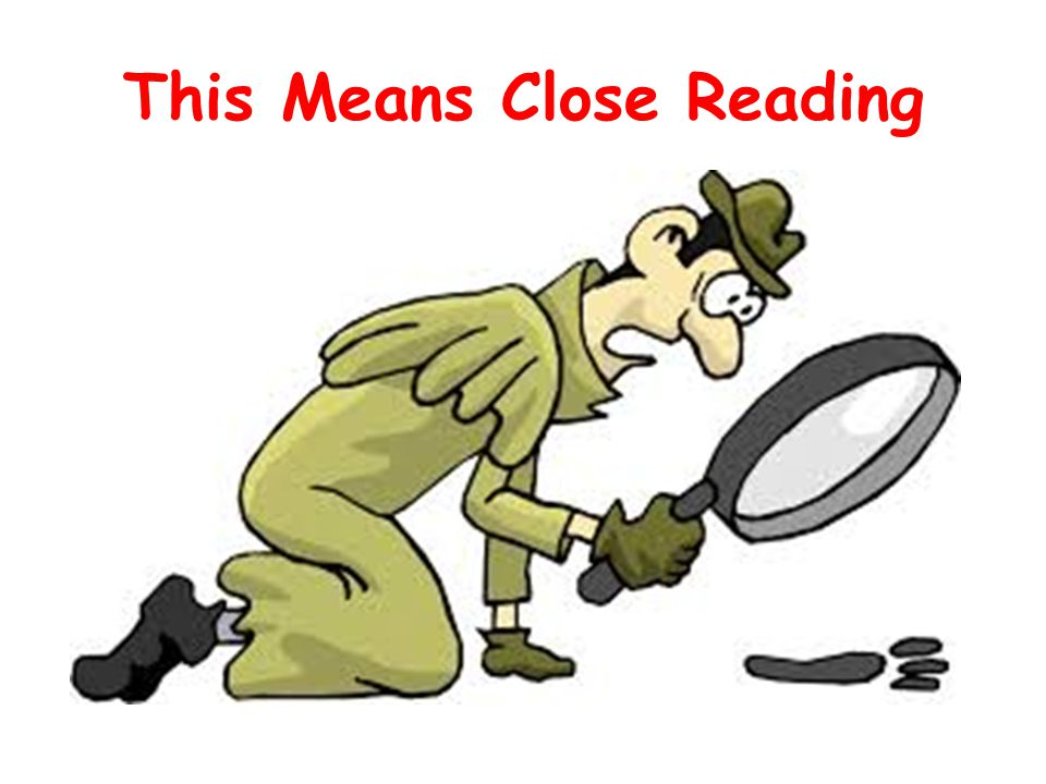 This Means Close Reading