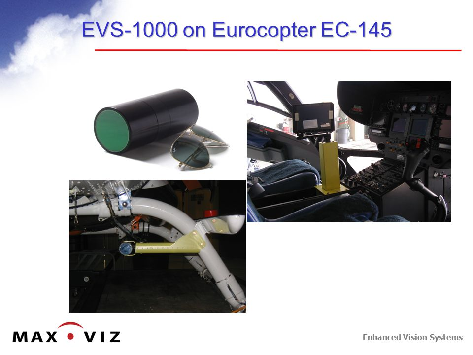 Enhanced Vision Systems EVS-1000 on Eurocopter EC-145