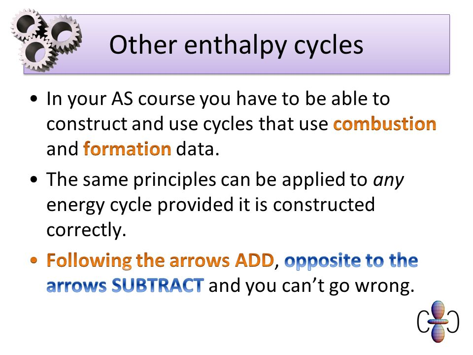 Other enthalpy cycles