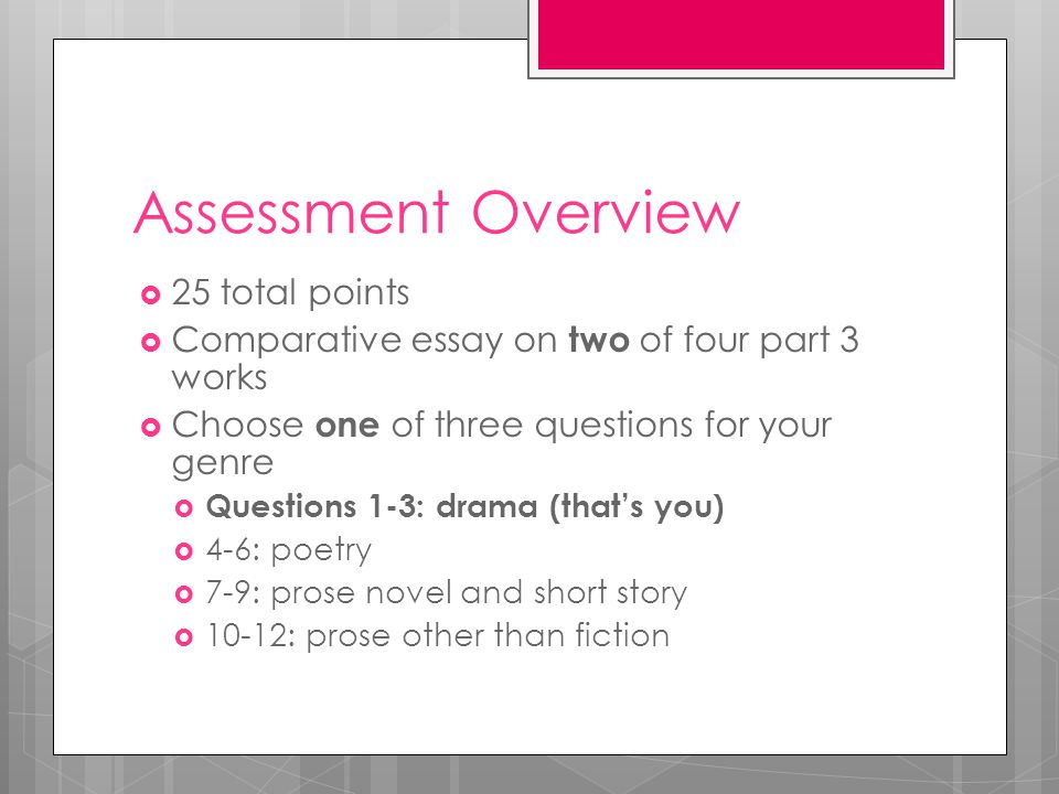 essay assessor Free essay: make assessment decisions and analyse learner achievement the assessor's role is to judge whether the evidence from the learner meets the.