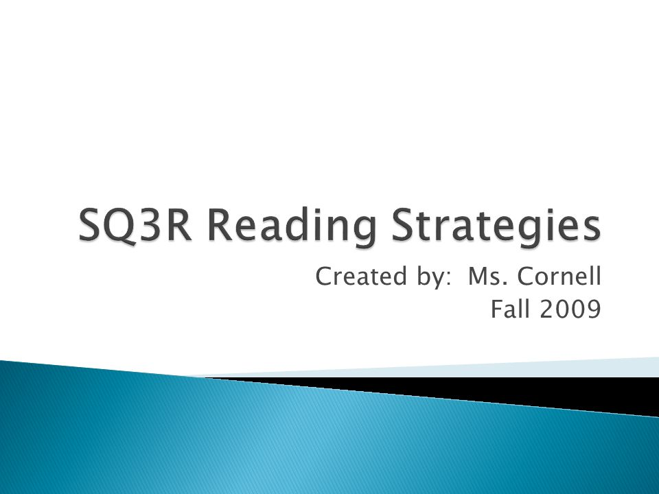 Created by: Ms. Cornell Fall 2009