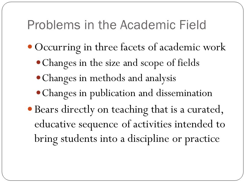 Problems in Curriculum & Teaching Occur in three phases of teaching Planning & Preparation Classroom Instruction Assignments & Assessments