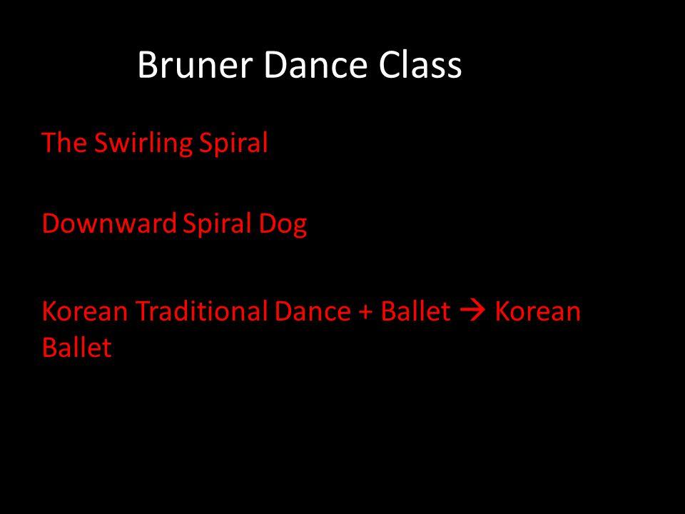 Bruner Dance Class The Swirling Spiral Downward Spiral Dog Korean Traditional Dance + Ballet  Korean Ballet