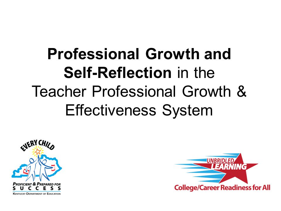 Professional Growth and Self-Reflection in the Teacher Professional Growth & Effectiveness System