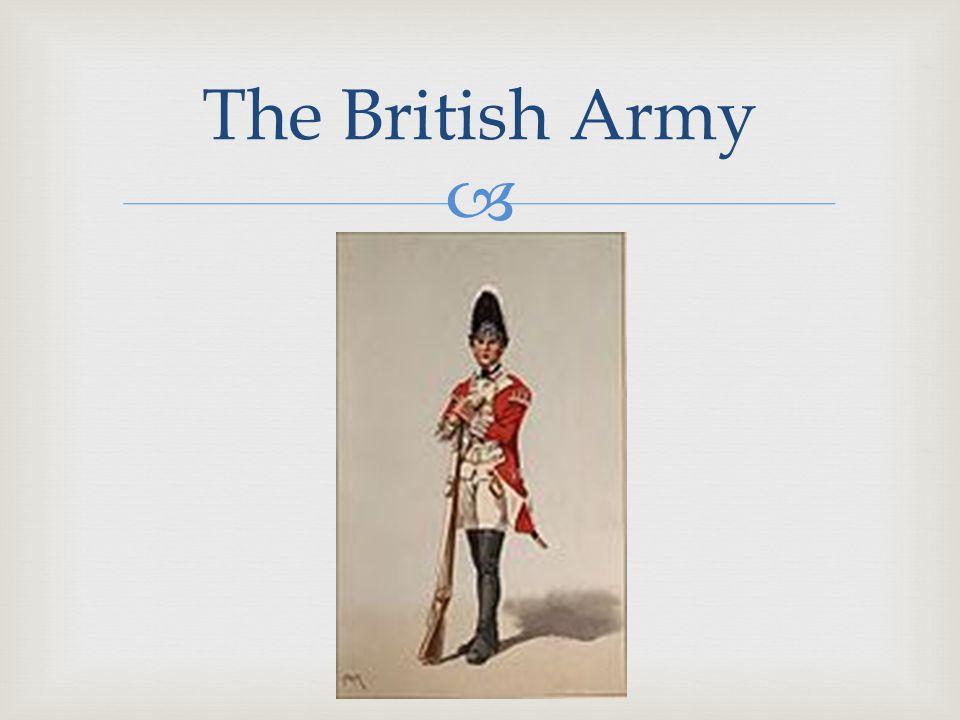  The British Army