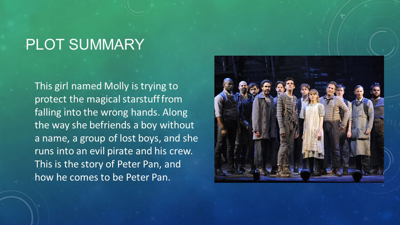 PLOT SUMMARY This girl named Molly is trying to protect the magical starstuff from falling into the wrong hands.