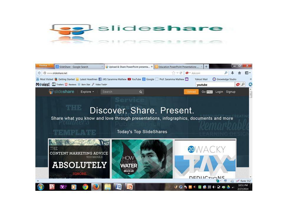 SlideShare the world s largest community for sharing presentation.