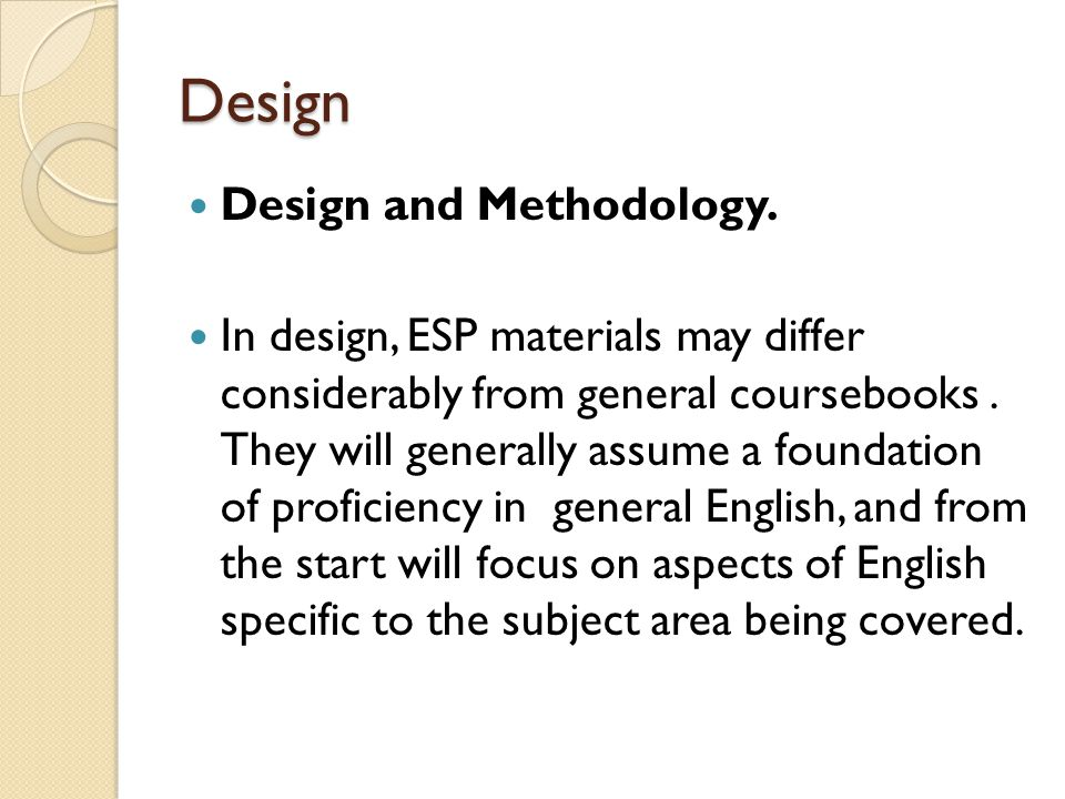 ESP/EAP CHECKLIST 2 Can the material be used for individual/home study.