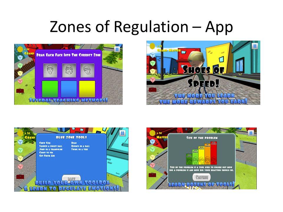 Zones of Regulation – App