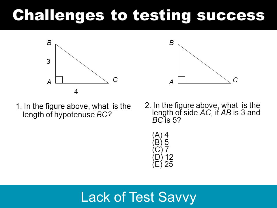 www.bellcurves.com © Bell Curves 2013 Lack of Test Savvy Challenges to testing success A B 1.