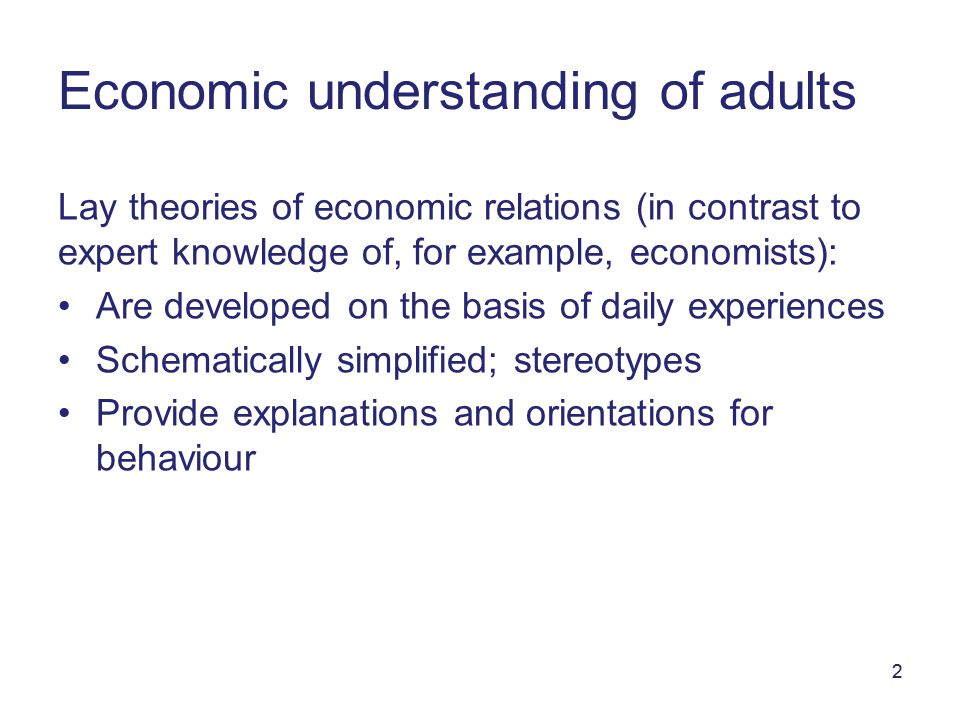 3 1. Knowledge about taxes