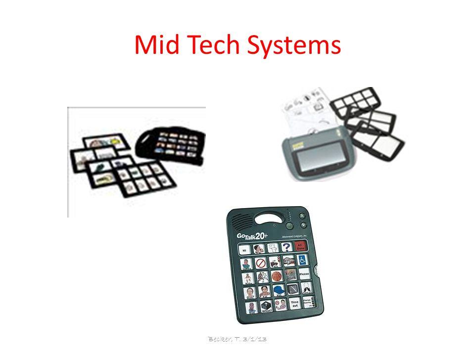 Mid Tech Systems Becker, T. 3/1/13