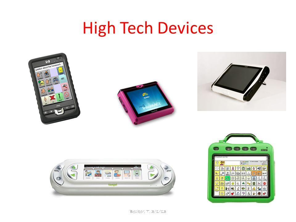High Tech Devices Becker, T. 3/1/13