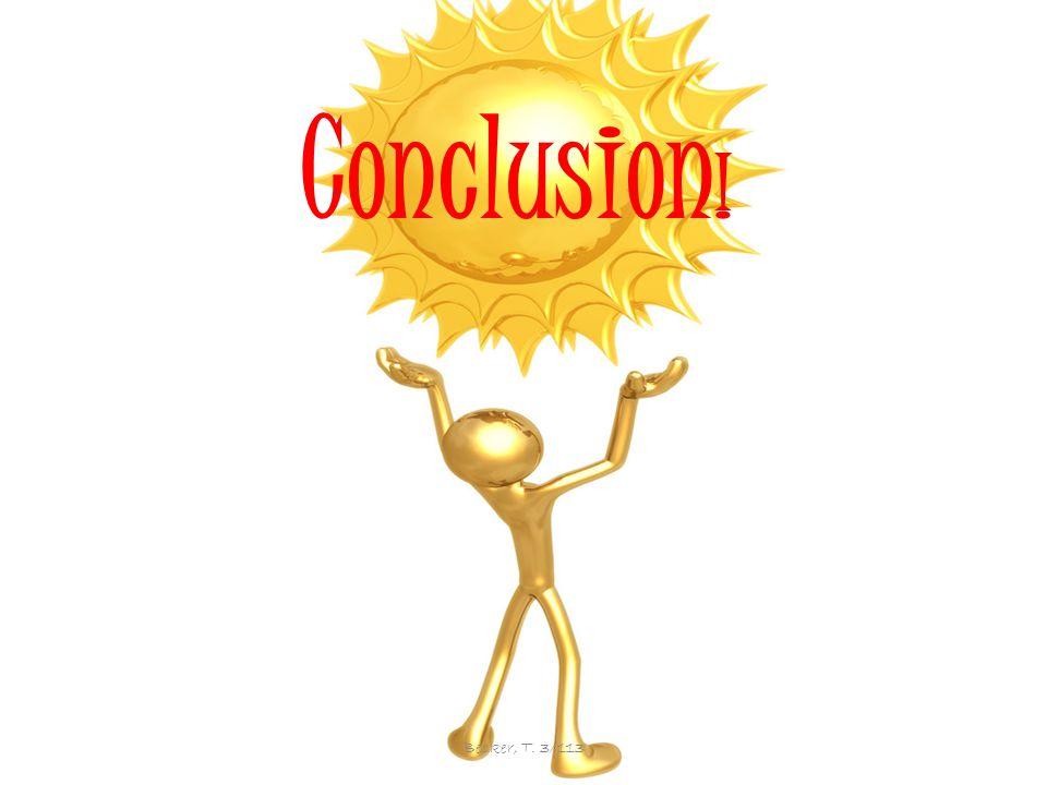 Conclusion Conclusion ! Becker, T. 3/113