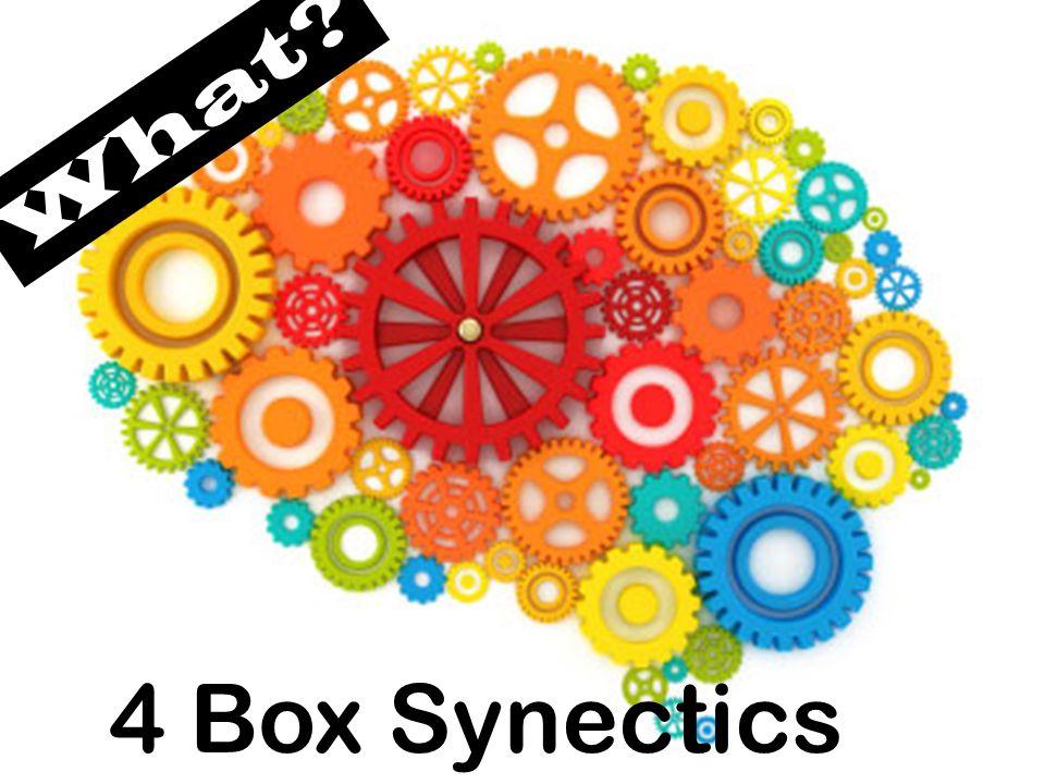 What? 4 Box Synectics