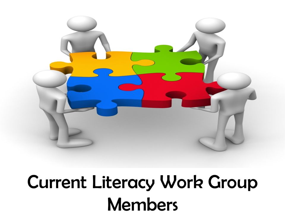 Current Literacy Work Group Members