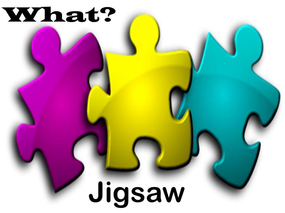 What? Jigsaw
