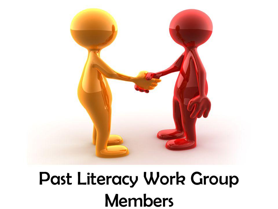 Past Literacy Work Group Members