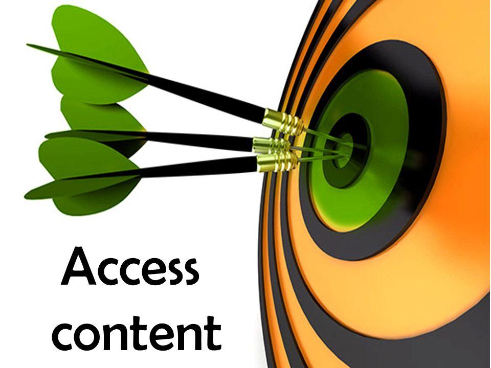 Access content