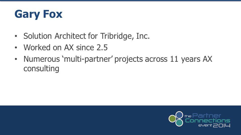 Solution Architect for Tribridge, Inc.