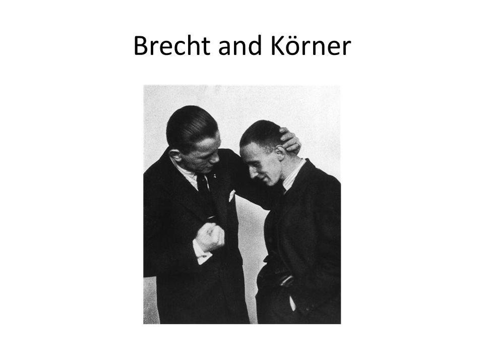 Brecht and Körner