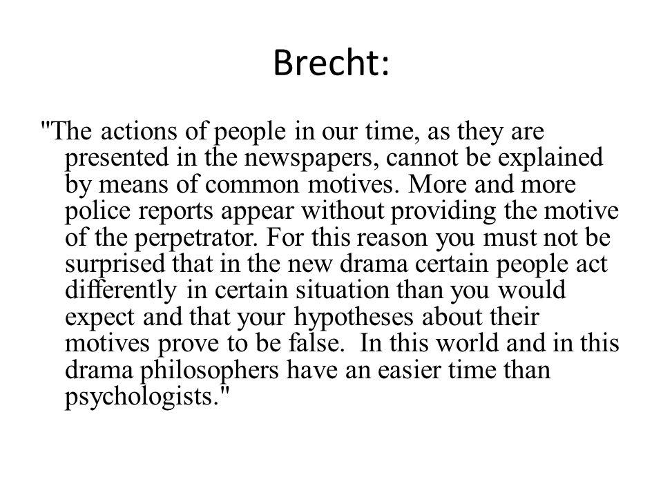 Brecht: