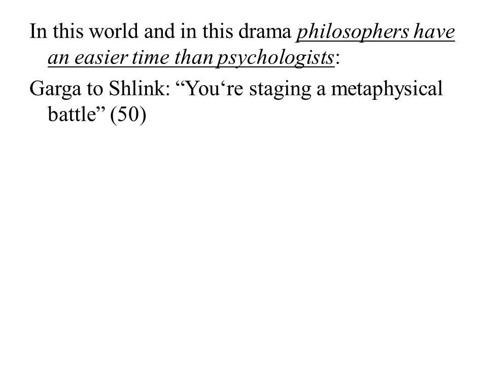 Garga to Shlink: You're staging a metaphysical battle (50)