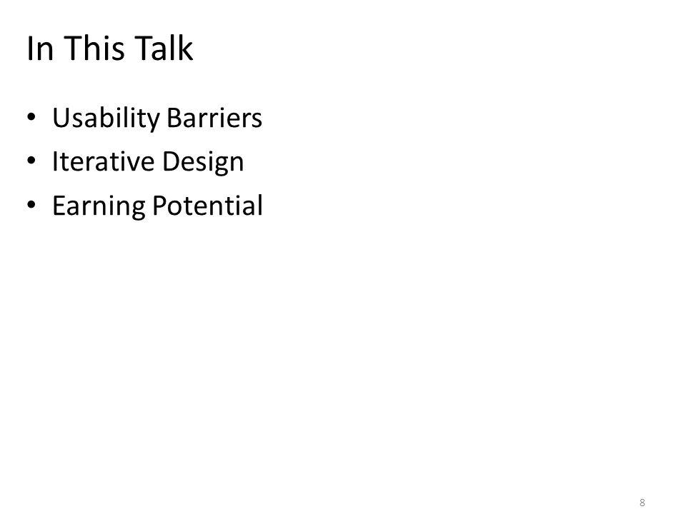 Iterative Design and Evaluation