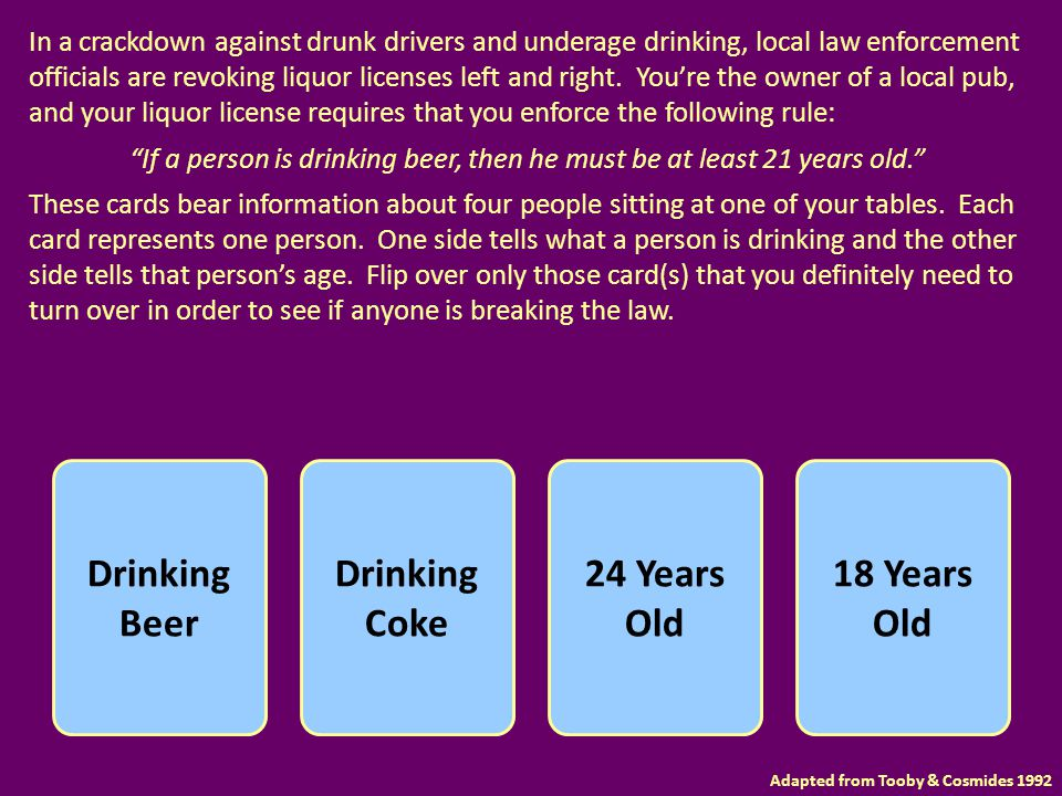 In a crackdown against drunk drivers and underage drinking, local law enforcement officials are revoking liquor licenses left and right. You're the ow