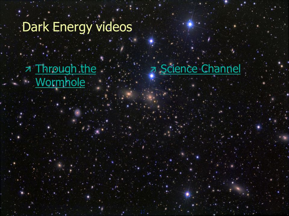 12 Dark Energy videos  Through the Wormhole Through the Wormhole  Science Channel Science Channel
