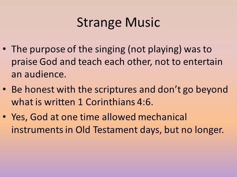 Strange gods God forbids men to worship strange (foreign) gods Deuteronomy 32:16; Joshua 24:20-23; Judges 10:16.