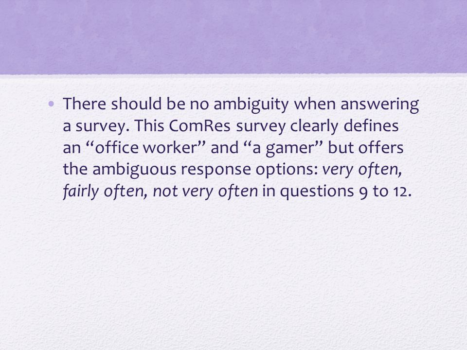 Go to Broadcasting Standards Poll - 5 pages on Give 3 concerns you might have