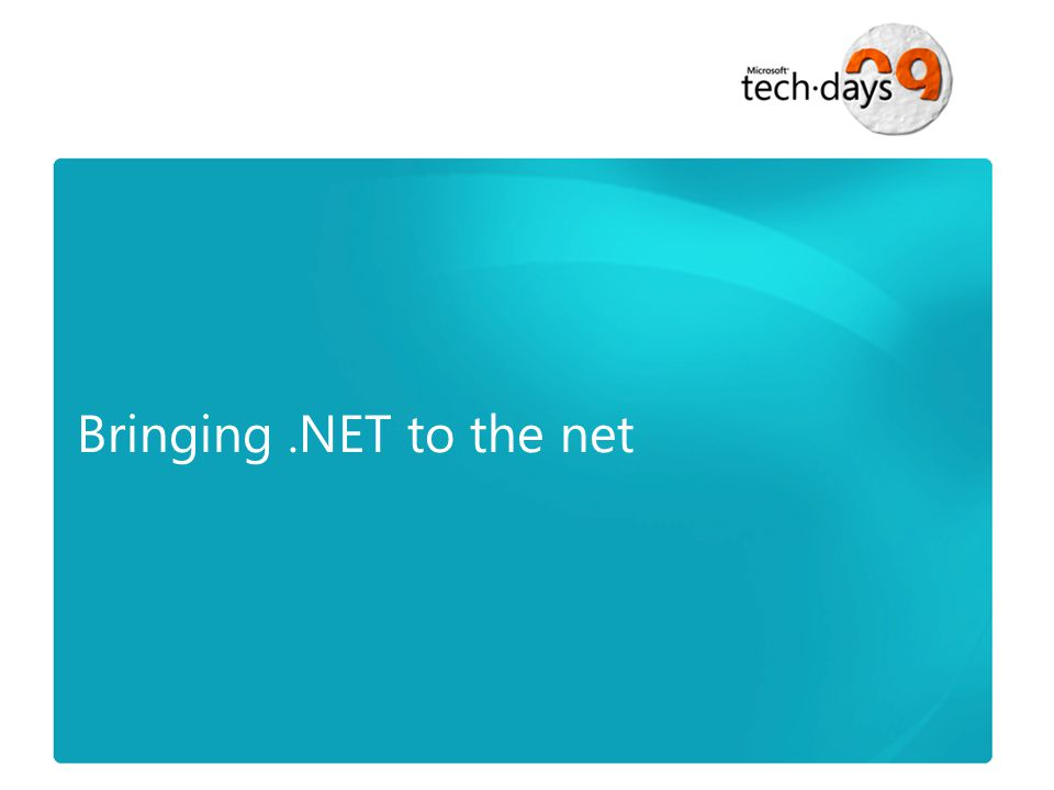 Bringing.NET to the net