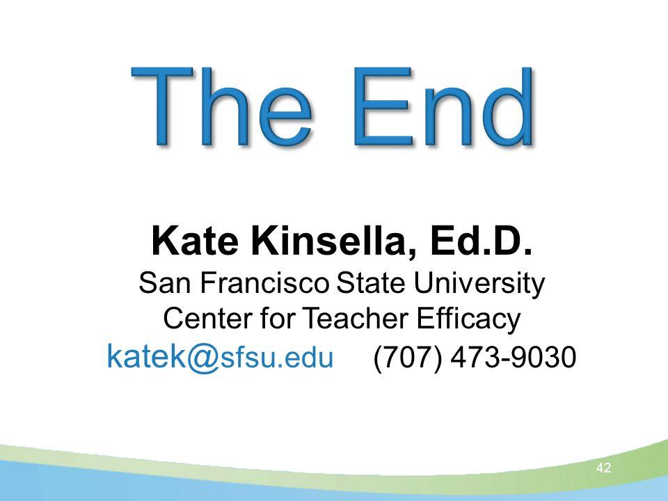 42 Kate Kinsella, Ed.D.