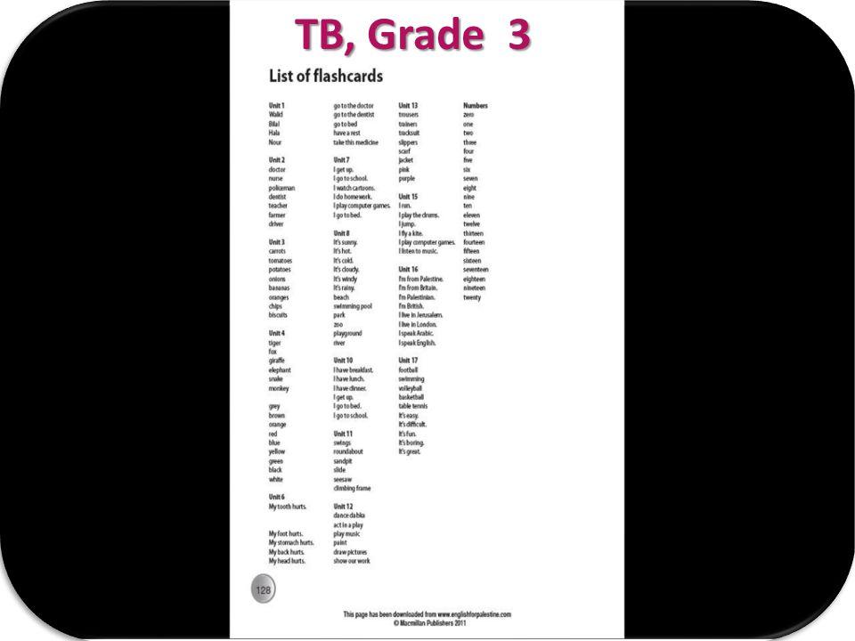 TB, Grade 3