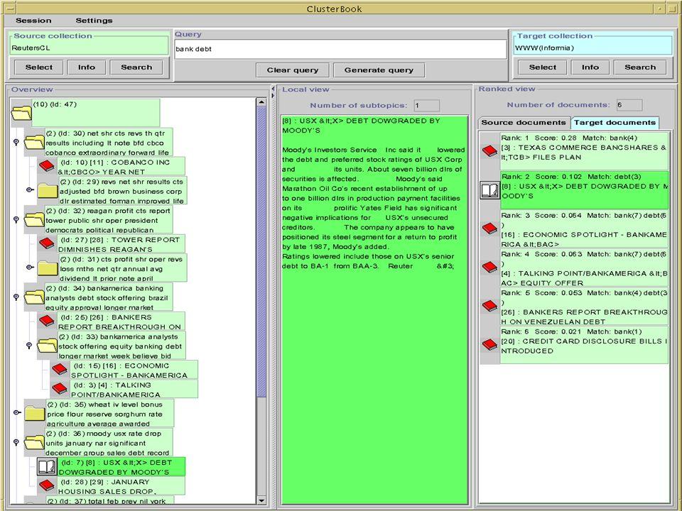 Initial user interface (Java AWT)