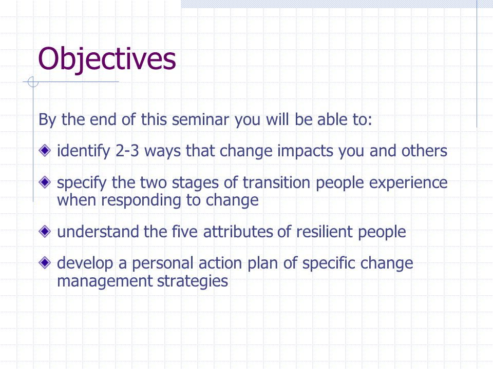 Five Characteristics of Resilient People Positive Focused Flexible Organized Proactive