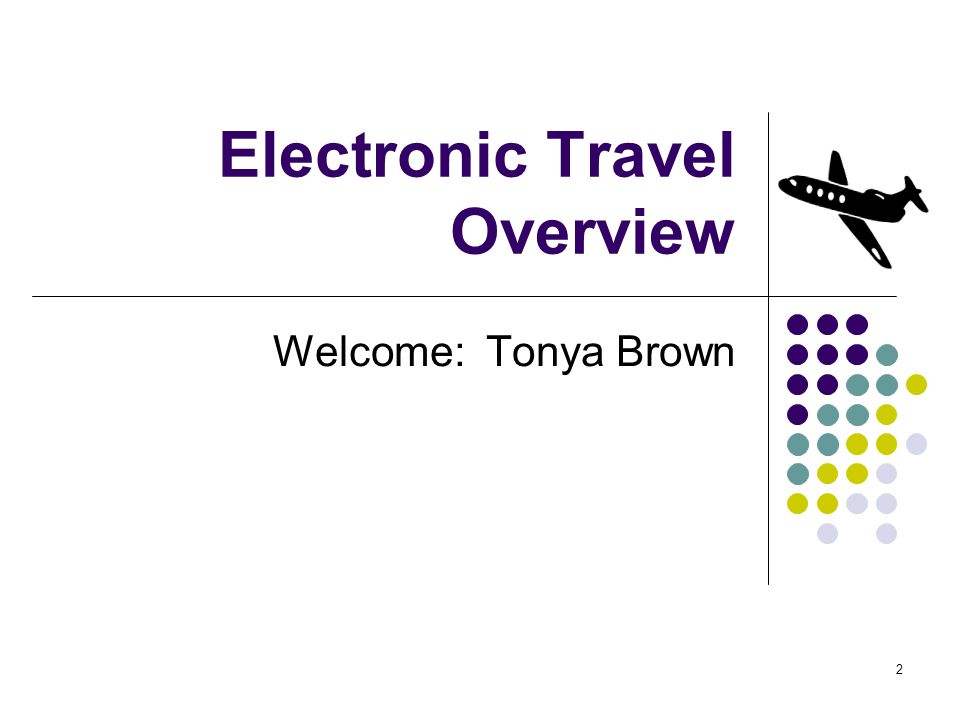 2 Welcome: Tonya Brown