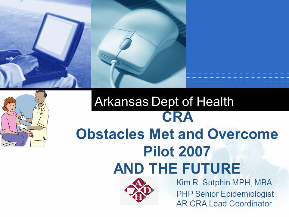 Company LOGO Arkansas Dept of Health Kim R.