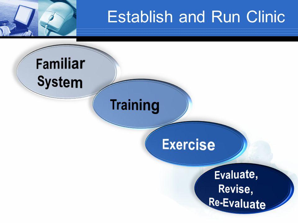 Establish and Run Clinic