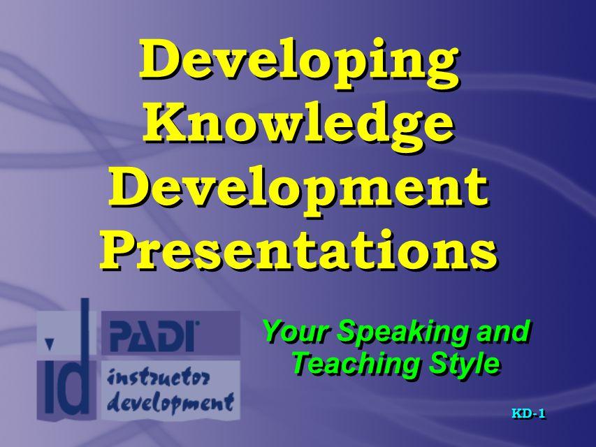 KD-12 Prescriptive Teaching Steps Step 5