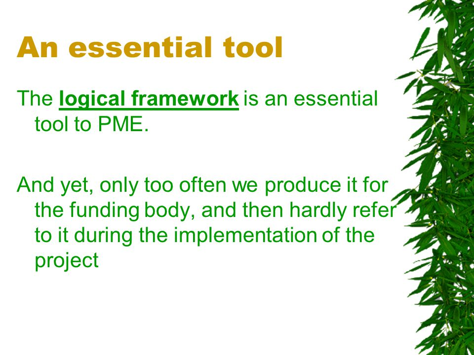 How will the PME tools be formalised at HI .