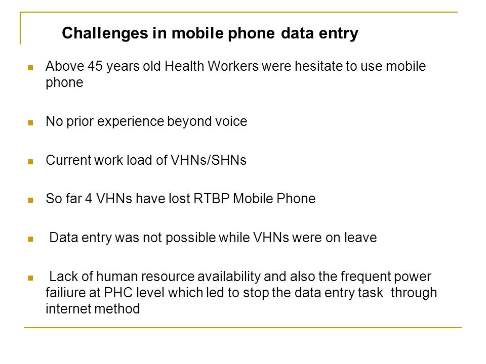 Challenges in TCWI and SAHANA Messaging and Alerting Module Health workers unfamiliar with statistical estimation methods for detection analysis Lack of participation among the selective Health officials in spite of frequent approach Usage is almost nill because there is no incentives Poor internet connectivity Lack of computer knowledge among the Health Workers/Health officials at PHC level