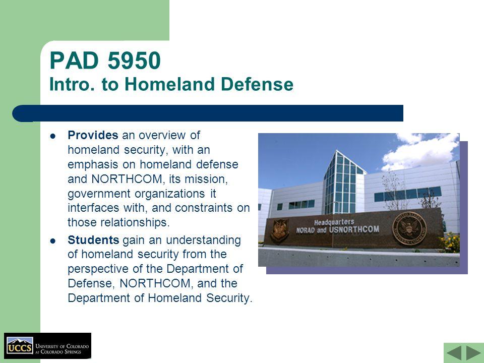 PAD 5950 Intro.