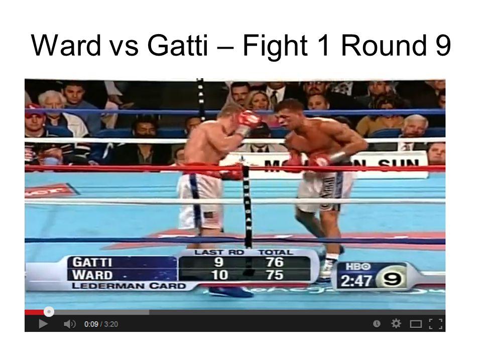 Ward vs Gatti – Fight 1 Round 9 http://www.